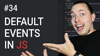 34: How To Prevent Default Events In JavaScript | JavaScript Events | JavaScript Tutorial | mmtuts