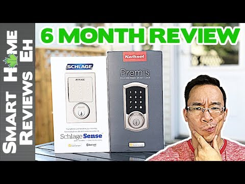 Long Term Review – Kwikset Premis vs. Schlage Sense – Smart Home Door Lock Review and Comparison