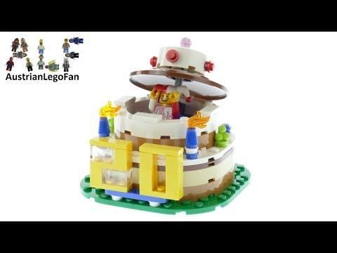 Vidéo LEGO Saisonnier 40153 : Décoration pour table d'anniversaire