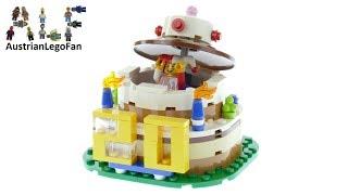 Lego 40153 Birthday Table Decoration Speed Build