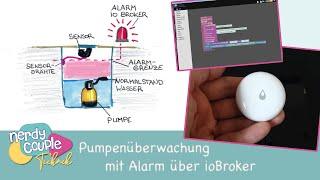 Pumpenüberwachung mit Aqara Wassersensor und Alarm über ioBroker