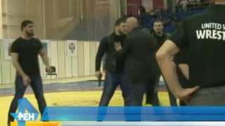 Борцу, который стал зачинщиком драки на чемпионате, грозит пожизненная дисквалификация