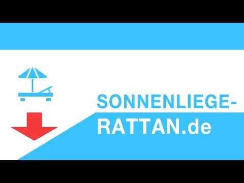 Sonnenliege Rattan