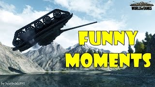 World of Tanks - Funny Moments | Week 4 December 2016