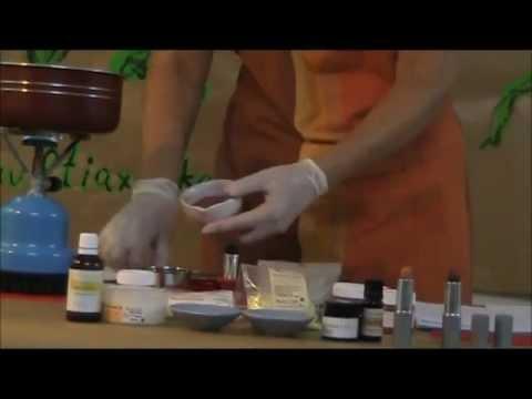 Φτιάξτε μόνες σας Βιολογικό Κραγιόν - Ρόδι
