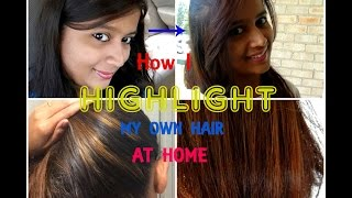 How to highlight your own hair at home with Garnier Nutrisse | SensationalSupriya