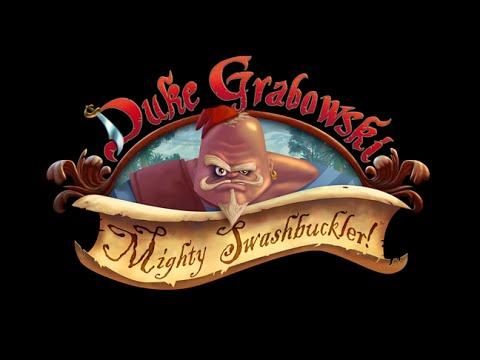 """""""Duke Grabowski, Mighty Swashbuckler"""" Kickstarter Teaser thumbnail"""