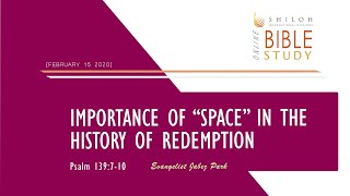 "Importance of ""Space"" in the History of Redemption"