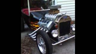 My Carter brothers Grave Digger go kart with the mini