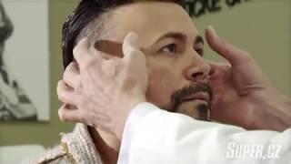 Osmany Laffita na plastice víček na Klinice YES VISAGE