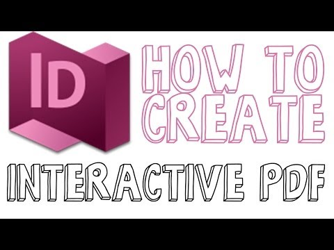 How To Create An Interactive PDF In Indesign – Indesign CC Tutorial