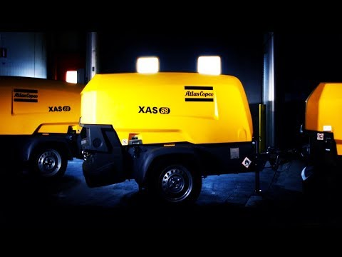 The future of Portable Compressed Air. Meet the amazing new 8 Series, Atlas Copco - zdjęcie