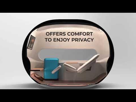 Slovenačka kompanija AirPod predstavila kapsulu za odmor na aerodromima - Dubai prva destinacija (VIDEO)