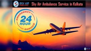 Select Air Ambulance from Kolkata at an Economical Cost