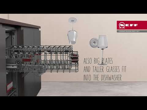 NEFF Built In 60 Cm Dishwasher Fully S517T80D6E - Fully Integrated Video 1