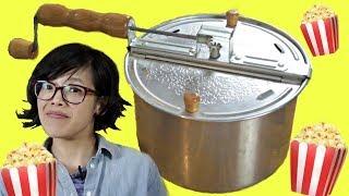 🍿WHIRLEY POP Popcorn Popper vs. Pot PRODUCT TEST - Does it pop better popcorn?🍿