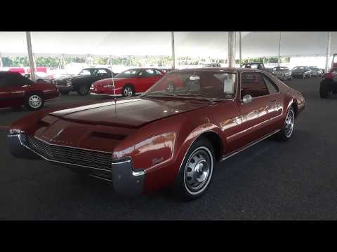 1966 Olds Toronado First Year Front Wheel Drive Stripper Sold At the 2019 Mecum Harrisburg