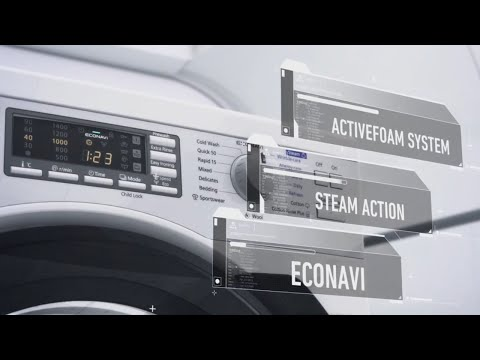 Introducing Front Load Washing Machine NA-140VS4