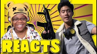 FORTNITE The Movie Official Fake Trailer By Nigahiga | Sketch Reaction | AyChristene