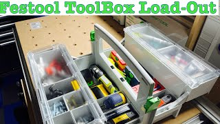 Festool Systainer (Sys Storage)Tool Box load-out