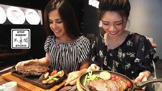 《初體驗》老外品嘗台灣高級牛排: Taiwan's Wang Steak Experience