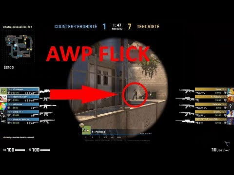Just chilling on Mirage (Quickest AWP flick ever)