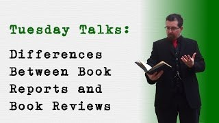 Differences Between Book Reports And Book Reviews