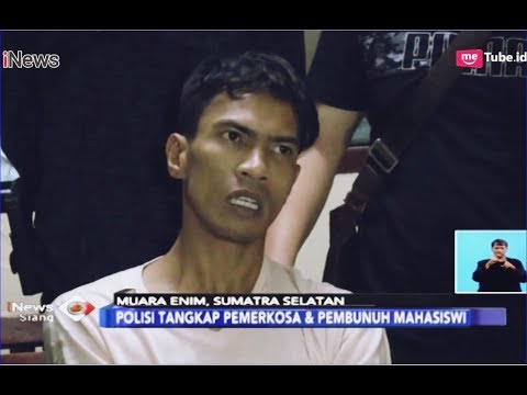 Polisi Tangkap Pemerkosa dan Pembunuh Mahasiswi di Muara Enim, Sumsel - iNews Siang 02/01