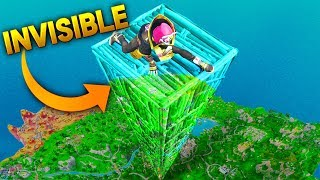 *NEW* SECRET INVISIBLE BUILDINGS..?! | Fortnite Funny and Best Moments Ep.206 Fortnite Battle Royale