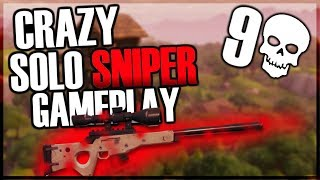 CRAZY SOLO SNIPER GAMEPLAY! ︱Fortnite Battle Royale Gameplay!