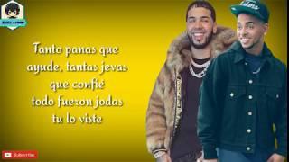 Ozuna ft Anuel AA - Cambio [Letra]