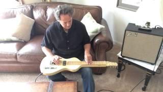 Asher Electro Hawaiian Custom & Swart Spacetone Reverb Amp