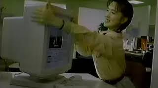 JDL日本デジタル研究所『文作パブリッシング』CM若村麻由美1990/01