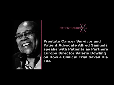 Prostate Cancer Survivor, Al Samuels, Tells His Story of How a Clinical Trial Saved His Life