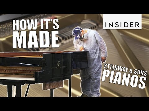 How Steinway & Sons Make Their World Famous Pianos