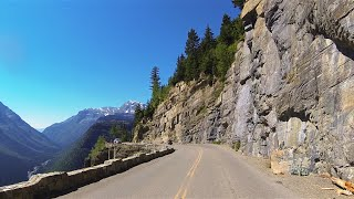 Amazing Going-to-the-Sun Road (Short Version) – Glacier National Park, Montana MT