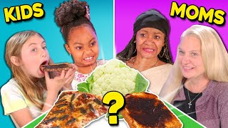 Can Kids Guess Their Mother's Cooking? | People Vs. Food (Prank)