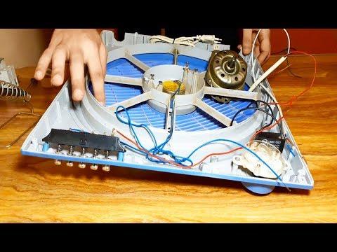 ربط اسلاك دائرة مروحة بوكس سرعات مع التايمر وموجه الهواء ومفاتيح التشغيل