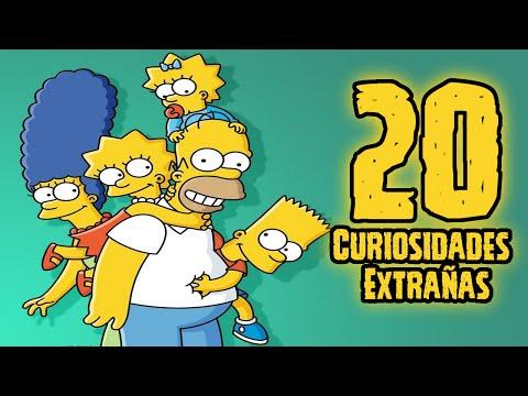 TOP 20: 20 Curiosidades Extrañas De Los Simpsons