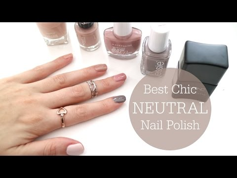BEST Chic Neutral Nail Polishes // Top 5 // Rachael Jade