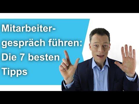 Mitarbeitergespräch führen: Die 7 besten Tipps + Mitarbeitergespräch Rollenspiel, Beispiel /M.Wehrle
