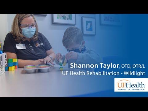 Write it: Occupational therapist at UF Health Rehabilitation