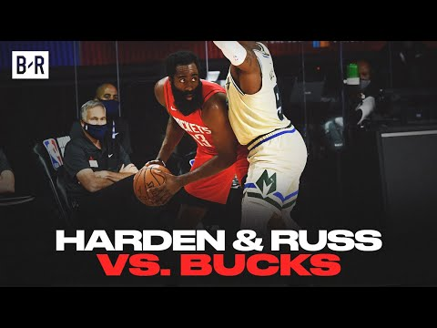 James Harden And Russell Westbrook Drop 55 vs. Bucks | Game Highlights
