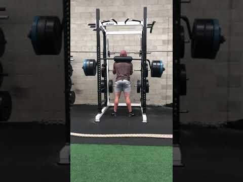 Safety Bar Squat 175kg x 5 Nathan Waters 18/4/20