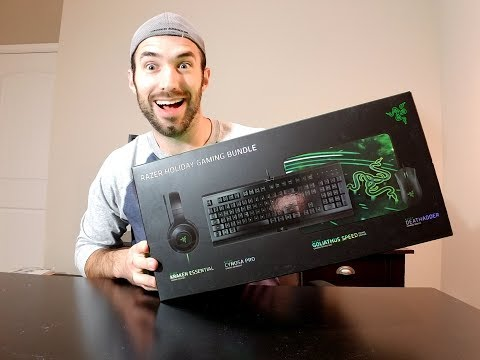 Razer Holiday Gaming Bundle Unbox and overview!
