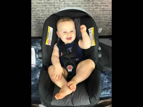 REVIEW: NexGen (BabyTrend) Ally 35 Infant Car Seat  + how to remove padding and readjust harness