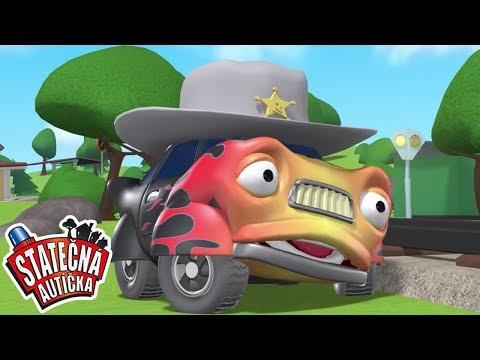 Statečná autíčka - | Kreslené pro Děti | Animované pro Děti