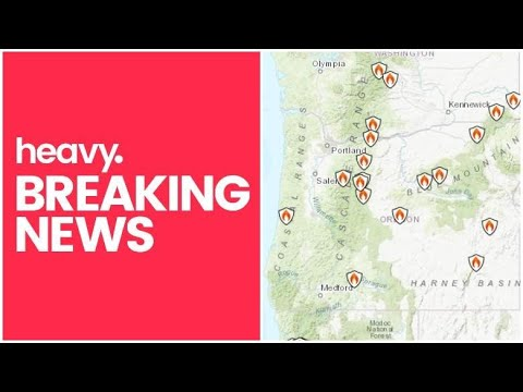 Oregon Fire Map Track Fires & Evacuations Near Me Today [September 8]
