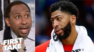 It's a failure if Anthony Davis doesn't win a title with LeBron - Stephen A. | First Take
