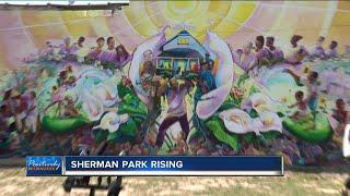 Sherman Park Rising mural unveiled